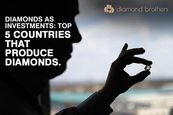 5 countries that produce diamonds